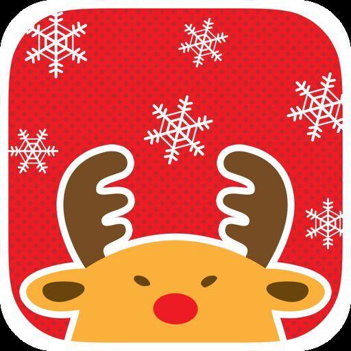渋顔のサンタを助けるiPhoneアプリ「超クリスマス-2013-」