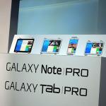 CESでサムスンが高解像度タブ「GALAXY Tab PRO/Note PRO」を発表