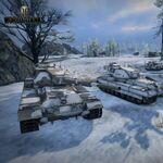 「World of Tanks」新アップデートで「国家戦」を実装、雪の市街地マップも追加