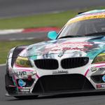 ミクZ4、GT最終戦の予選で3位! てっぺん見えたか!?