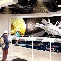 3Dプリンタも活用した月面資源採掘船を作る体感型学習施設がオープン