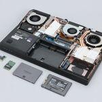1TB SSD×4の胸アツ構成! 64万台ノートPCを分解してみる - 「NEXTGEAR-NOTE i1110」