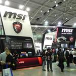 MSIブースでHaswell-E対応のX99マザーとUSB 3.1を発見!