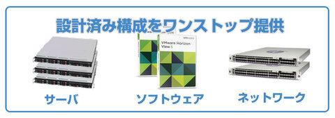 SBT、VSAN活用のVDIパッケージ「vStackシリーズ」提供