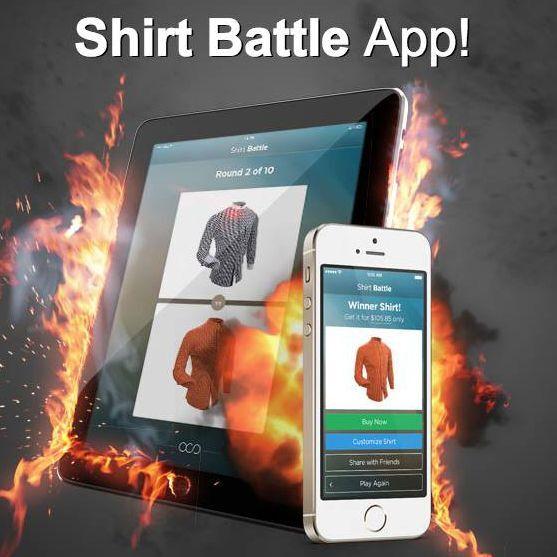 10回選べば好みのシャツを作れる「Shirt Battle」がスタート