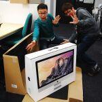 6400×3600表示も挑戦! 写真で見る「iMac Retina 5Kディスプレイモデル」