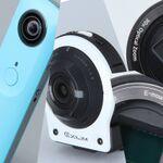 「RICOH THETA」にソニー「QX1」、次世代を感じさせるデジカメたち!
