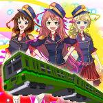 人がワラワラと増えていく感じがステキ「鉄道駅ゲーム えきっと!」