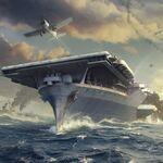 ついに空母が登場! 『World of Warships』最新映像公開