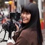 9nine吉井香奈恵が挑戦、デジカメとスマホでリタルタイム動画配信
