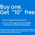 Windows 10、発売後は3年以内に10億ユーザーを目指す