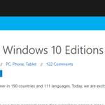 Windows 10の全7エディションの違いを知る