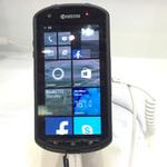 京セラの超タフネス系のWindows Phoneを見てきたぞ!