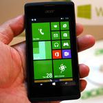 Acer初のWindows Phone「Liquid M220」をネットリ触ってきた!