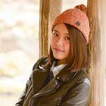 六義園で撮る、9nine吉井香奈恵とはじめての一眼レフ