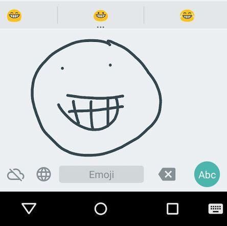 絵文字も認識! 「Google手書き入力」がAndroid向けに公開