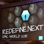 REDEFINEの次へ!EMC WORLD 2015レポート