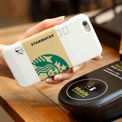 スタバカードがiPhoneケース一体型に、かざして支払できる「STARBUCKS TOUCH」