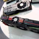 COMPUTEXのinno3DブースでGTX 980 Ti鬼冷却仕様を確認