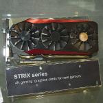 ASUSがSTRIXシリーズのGTX 980TiをCOMPUTEXで展示