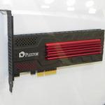 PLEXTORが夏に発売予定の高速SSD「M7e」をCOMPUTEXで見た