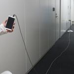水中でも陸上でも使えるWi-Fi延長ケーブルがとても便利