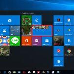 Windows 10でもスマホのようにスタートメニューのアプリタイルをまとめられる