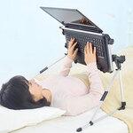 ノートPCが仰向けで使える超軽量ゴロ寝デスクがお手頃価格3980円!