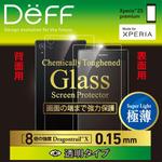 42%オフの2000円で買える、Xperia Z5 Premium背面用の保護ガラス