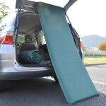 車中泊やテント泊でも気持ちよく寝たい「どこでも寝心地エアーマット」