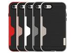 iPhone 7の薄さを損なわない、カードスロット付き耐衝撃ケース