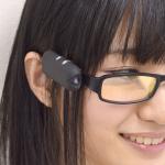 いつものメガネがウェアラブルカメラに変身!