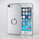 落下防止のリングが付いたiPhone 7用クリアカバーが人気の予感!