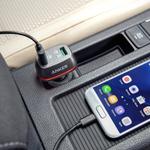 車内にあると便利! スマホやタブレットを急速充電可能なカーチャージャー