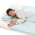 寝苦しい夜でもひんやり快適に! 東レのクールモーションを使用した冷感敷きパッド