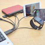 iPhoneも携帯ゲーム機もこれ1本で充電OK!8股の万能ケーブルが便利