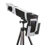 スマホで月のクレーターまではっきり見える、組み立て式の天体望遠鏡
