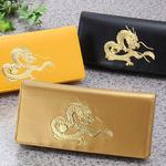 22金箔使用、皇帝龍をあしらったゴージャスな財布