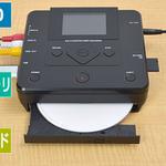 PC不要! ビデオテープをDVD化できる液晶付きメディアプレーヤー