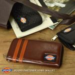 カジュアルブランド「Dickies」の王道ラウンドファスナー長財布
