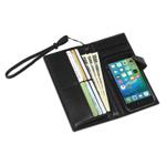 iPhoneと長財布が1つに合体!本革製の手帳型iPhoneケース