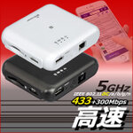 5GHz対応!高速データ転送ができるWiFi SDカードリーダー