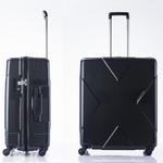 無料預け荷物最大級、容量105リットルのスーツケース