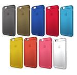 iPhone 6sをキズや汚れから守る!割れない9色の透明ケース