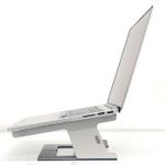 MacBookにピッタリ!ノートPCを浮かせて使えるスチール台