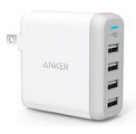 壁に挿せる4ポートUSB急速充電器『Anker PowerPort 4』がコンパクトで使いやすい!
