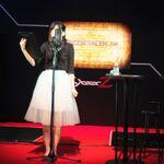 諏訪彩花さんがアテレコ披露!  スマホゲーム「フィンガーナイツ」ステージイベント