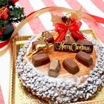 グリコのアーモンドチョコレートがケーキになった!