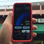 さらに通信が高速になったiPhone 6sを山手線主要駅で速度テスト!
