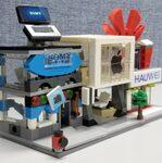 アップルストアやファーウェイっぽいお店がレゴ互換品で存在した